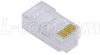 Modular Plug, RJ45(8x8) Category 5/5E, Pkg/50 -- TSP3788C5