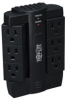 6 Rotatable Outlets, Direct Plug-in, 1500 Joule - Protect It! Surge Suppressor -- SWIVEL6
