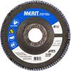 Merit ZA Coarse Center Mount Fiberglass HD Conical Flap Disc -- 08834190726 - Image