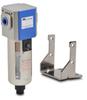 Pneumatic / Compressed Air Filter: 1/4 inch NPT female ports -- AF-323 - Image