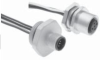 MDC (M12) Male Receptacle -- MDC-8MR-PG7-0.15M-SS