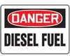 MCHD81BVA - Safety Sign, Danger - Diesel Fuel, 7