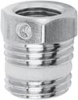Nickel Plated Brass Pipe Fitting -- S2530 1/2-1/4 -- View Larger Image