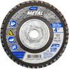 Norton Metal ZA Coarse Arbor Thread Fiberglass Conical Flap Disc -- 66254419997 - Image