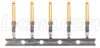Crimp & Poke Male Pins - Gold Flash, Reel/100 -- CPM100