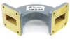 WR-112 Waveguide H-Bend Commercial Grade Using UG-51/U Flange With a 7.05 GHz to 10 GHz Frequency Range -- SMF112HB - Image