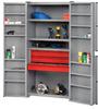 RELIUS SOLUTIONS Four-Shelf Combination Cabinet -- 8413900