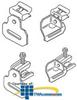 Erico Strap Hanger Clip (Pkg. of 100) -- MSS24