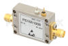25 dBm IP3, 1.6 dB NF, 13.5 dBm P1dB, 20 MHz to 3 GHz, Low Noise Amplifier, 25 dB Gain, SMA -- PE15A1008 -Image