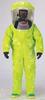 Encapsulated Suit,L,PVC,Lime Yellow -- 3WJN5