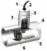 Series 2600 PVC Flow Switch -- 2600-42953 -- View Larger Image