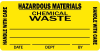Hazardous Materials Medical Label -- LV-MCA4