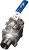Sanitary Direct Mount Ball Valve -- EA-33NF-EXT -- View Larger Image