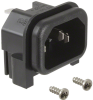 Power Entry Connectors - Inlets, Outlets, Modules -- 486-5512-ND -Image