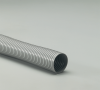 100% Rigid Self-supporting Gray PVC Material Hose -- Dayflex® Pliaduct® 10.0 - Image