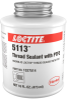 Loctite 5113 Thread Sealant - White Paste 1 pt Can - 00104 - Formerly Known as Loctite Thread Sealant with PTFE - -- 079340-00104