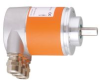 Absolute multiturn encoder with solid shaft -- RM7012 -- View Larger Image