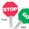 Traffic Control Paddles (GO) -- 754476-55775