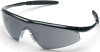 Crews Tremor Safety Glasses with Onyx Frame and Grey Lens -- TM112