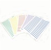 Blue File Folder Labels 2/3 x 3-7/16 -- LV-6017B