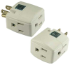 3 Outlet Cube Adapter -- 2105-SF-06 -- View Larger Image