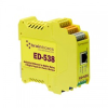 Ethernet to DIO 4 Digital Relays and 8 Digital Inputs -- ED-538 - Image