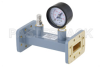 WR-112 Waveguide Pressurizing Section 4.25 Inch Length, CPR-112G Grooved Flange from 7.05 GHz to 10 GHz -- PEWSP1010 - Image