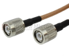 TNC Male to TNC Male Cable RG142 Coax in 120 Inch -- FMC0303143-120 -Image