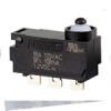 MICRO SWITCH ZD Series Subminiature Basic Switch, Single Pole Double Throw Circuitry, 3 A @ 125 Vac, Pin Plunger, Solder Termination