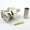 BNC Male Connector Crimp/Solder Attachment For RG58, RG141 Cable -- SC6029 -Image