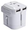 World Travel Power Adapter (White)