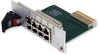 3U CompactPCI Rear-Panel I/O Transition Module with 8 RJ-45 Ports for NETernity™ CP3-GESW8(N) -- CP3-GESW8-TM8 - Image