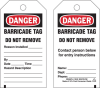 Brady Equipment Safety Tag - 132422 -- 754473-84506