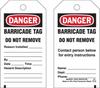 Brady Equipment Safety Tag - 132422 -- 754473-84506