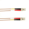 10m (32.8ft) LCLC BN OM1 MM Fiber Patch Cable INDR Zip OFNR -- FOCMR62-010M-LCLC-BR - Image