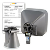 Air Velocity Meter with Flow Hoods incl. ISO Calibration Cert. -- 5855300 -Image