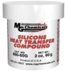 Heat Transfer Compound; Silicone; whitepaste; 2 oz tub -- 70125531