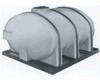 Elliptical Horizontal Bulk Storage Tank -- 11807