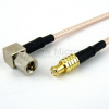 MCX Plug to RA 10-32 Male Cable RG-316 Coax in 120 Inch -- FMC0714316-120 -Image