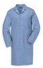 Flame-Resistant Lab Coat,Light Blue,L -- 3FXY5