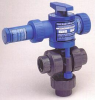 Series TABV 3-Way Air Actuated Ball Valves -- TABVA100V-PV