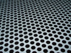 Perforated metal is used for its high strength-to-weight ratio, aesthetic appeal, variety of hole shapes and sizes that can offer a high percentage of open area.