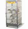 Aluminum Cylinder Storage Cabinet -- CAB248