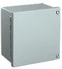 10 x 10 x 6 inch (HxWxD) NEMA 12 JIC Enclosure, continuous hinge,... -- WA101006GIE - Image