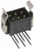 10+10 Pos. Male DIL Horizontal Throughboard Conn. Latches -- M80-8512042 -- View Larger Image