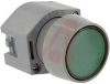 Switch, Pushbutton ActuatorS, NON-Illuminated, Momentary, ROUND, GREEN LENS -- 70029408