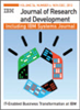 IBM Journal of Research and Development -- 0018-8646