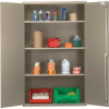 """Heavy-Duty All-Welded Storage Cabinets - 48"""" Wide - QSC-BG-3IS - Image"""