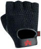 Valeo V4 Black Medium Leather Fingerless General Purpose Glove - Gel Polymer Palm Coating - 736097-48802 -- 736097-48802