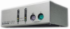 2 Port Mini Desktop KVM Switch including Cables -- CS-82AC - Image